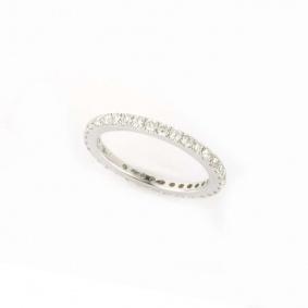 18k White Gold Full Diamond Eternity Ring 0.92ct G/H VS